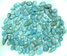 410g Beautiful LARIMAR GEM ATLANTIS DOLPHIN STONE Drops Cabochons