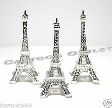 12 X EIFFEL TOWER PARIS FRANCE WEDDING BRIDAL SHOWER PARTY FAVORS 15 ANOS SILVER