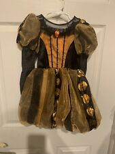 Disney Shopping Minnie Mouse Halloween Pumpkin Princess Costume Child Size 4/5