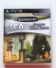 ICO & SHADOW OF THE COLOSSUS CLASSICS HD PLAYSTATION 3 PS3 PLAY STATION PAL ESP