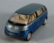 JOHNNY LIGHTNING VW Microbus Concept (Blue Met.) 1/64 Scale Diecast Model RARE!