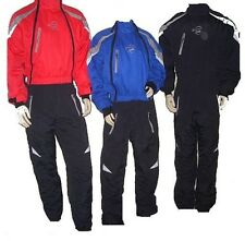Ozee Thermal Microlight Paragliding Gyrocopter Flying Suit Red Black Blue S-Xxl