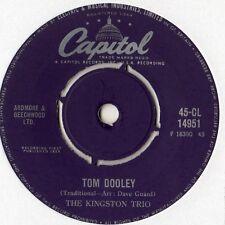 "Kingston Trio - Tom Dooley / Ruby Red 7"" Single 1958"