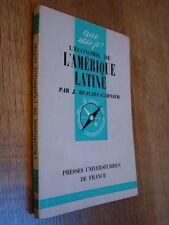 Que sais-je ? n° 357 Beaujeu-Garnier l'économie de l'amérique latine 1962