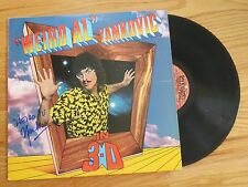 """WEIRD AL"" YANKOVIC signed IN 3-D 1984 Record / Album COA"