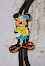 Authentic Disney Cast Member Bolo ID Lanyard Mickey Mouse Beach Summertime