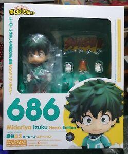 GSC Nendoroid 686 Midoriya Izuku Hero's edition (My Hero Academia) (Authentic)