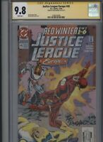 Justice League Europe #45 CGC 9.8 SS Ron Randall 1992