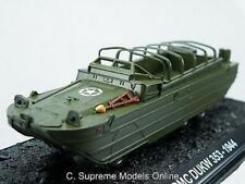 1944 GMC DUKW 353 ARMY MILITARY MODEL 1/72ND SCALE GREEN EXAMPLE BXD T3412Z(=)