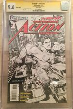 Action Comics #1 Sketch Variant CGC 9.6 SS Rags Morales
