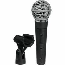 Shure SM58-S Dynamic Cardioid Vocal Microphone Professional Microphone w/ On/Off