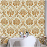 Damask Peel and Stick Wallpaper Self Adhesive Contact Paper for Bedroom Decor