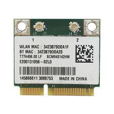 BROADCOM BCM943142HM WIRELESS CARD BRCM1063 T77H456.00 WIFI + BT COMBO WLAN CARD