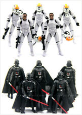 "Star Wars 2005 Clone Pilot TROOPER / Darth Vader action figure 3.75"" toys"
