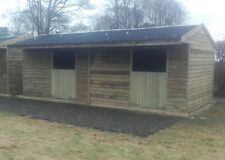 Stables 24' x 12' double apex stable block