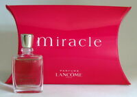 MIRACLE LANCÔME EAU DE PARFUM 5 ML. 0.17 FL.OZ. MINI PERFUME NEW IN BOX