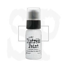 Tim Holtz Distress Paint Dabber 1 oz. PICKET FENCE  White