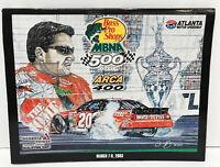 NASCAR Race Program MBNA 500 ARCA 400 Atlanta 2003 Starting Field Program