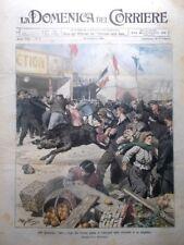 La Domenica del Corriere 25 Febbraio 1906 Macchina del Caffè Marocco Horszowski