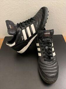 Adidas Mens Copa Mundial Team Turf Soccer Shoes Black Sz 10 US 019228 Cleats