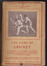 Lonsdale Library Vol VI in Scarce Dustwrapper - CRICKET - 1st 1930 - PGH Fender