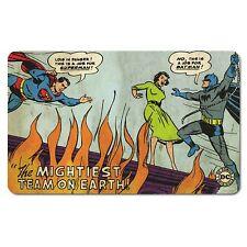 DC Comics - Vintage Frühstücksbrettchen -  Batman & Superman - Mightiest Team