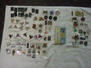 lot 58 Kentucky Derby Pins dated 1983 - 2009 and 24 other nonrelated Derby Pins