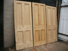 More details for reclaimed victorian four panel stripped pine internal doors