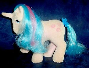 Rose: My Little Pony Vintage So Soft SS Unicorn Buttons EXCELLENT G1