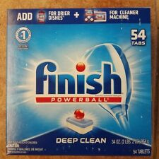 Finish All in 1 Powerball Fresh, 54 Pieces Dishwasher Detergent Tablets