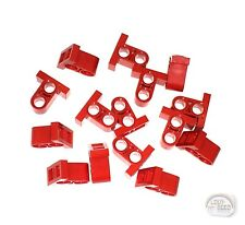 LEGO Technic - 15 x Pin Connector Plate - 1 x 2 x 1-2/3 - Red - New - (EV3)