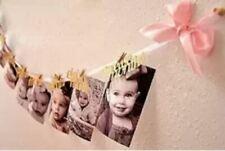 12 Month Photo Banner Milestone Photo Banner for First Birthday Garland
