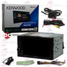"""KENWOOD 2DIN DDX375BT 6.2"""" CD DVD BLUETOOTH STEREO BLACK KEYHOLE BACKUP CAMERA"""