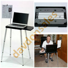 Laptop Stand Table Computer Desk Adjustable Portable Notebook Foldable Tablet
