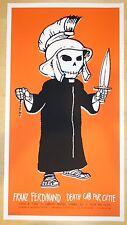 2006 Franz Ferdinand & Death Cab For Cutie Camden Concert Poster by Todd Slater