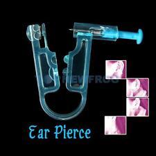Asepsis Safe Ear Piercing Gun Disposable Body Ear Pierce Kit Tool with Ear Stud