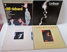 CLIFF RICHARD SELECTION OF 3 ALBUMS plus TWO HEARTS 12inch MAXI GATEFOLD