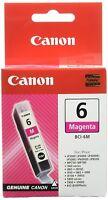 2 Pcs Original Canon BCI-6M Bci6m 4707a002 Ink Magenta Ip4000 Mp780 A-Ware