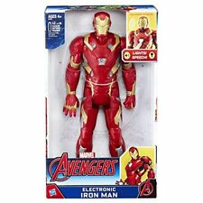 Figura Iron Man Vengadores Avengers Marvel Electronica 30cm