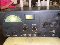 VINTAGE HALLICRAFTERS S-40B HAM RADIO RECIEVER HAM SHORTWAVE TESTED WORKING!!!