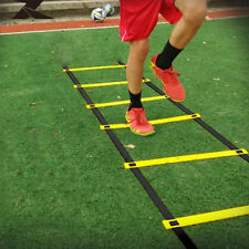 6-Rung Agility Ladder For Soccer Speed Football Fitness Feet Training New