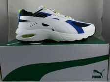 New PUMA Cell Speed Wht/Blue/Neon Sz 10