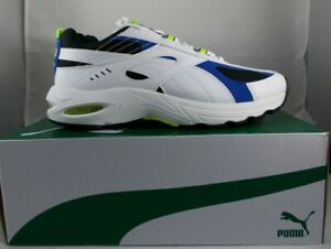 New PUMA Cell Speed Wht/Blue/Neon Sz 10