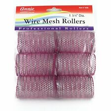 Annie 1-3/4 Jumbo Wire Mesh Hair Rollers - 6 Pcs. by Annie