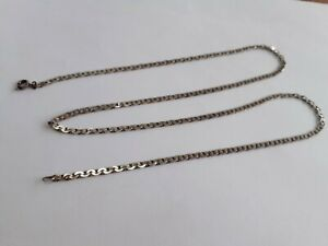 VINTAGE 22 INCH LONG STERLING SILVER CHAIN