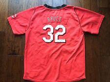 Cincinnati Reds Nike Jay Bruce #32 Jersey Nike Boys Sz Youth L