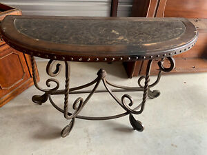 entryway table black