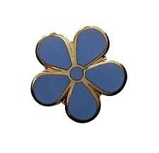 Forget Me Not (LARGE) - Masonic Lapel Pin LP18