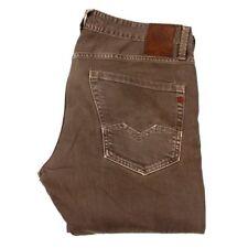 Jeans da uomo grigi marca Replay Taglia 32