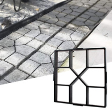 Diy Path Maker Mold Concrete Stepping Pavement Mold Garden Stone Walk Brick Mold